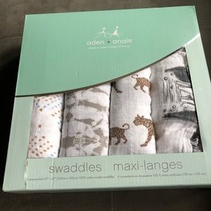 Aden + Anais swaddles brand new!